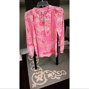 Lilly Pulitzer Trunk in Love Elsa Top